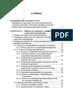 Cuprins Medierea - Mijloc Alternativ de Solutionare a Litigiilor Comerciale Internationale. Medierea in Romania