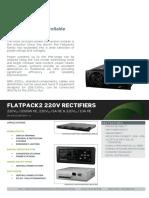 Datasheet Flatpack2 220V HE Rectifiers