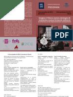 Programa Imaginar El Futuro, Nuevas Estrategias de Resistencia y Nuevas Formas de Resiliencia en La Literatura y El Cine Hispanoamericanos, 5 y 6 de Noviembre en Lovaina y Gante, Bélgica