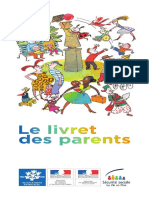 Le livret des parents