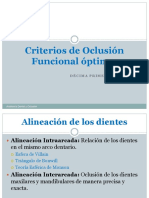 criterios de oclusion