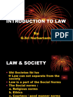 Introduction to Law - Power Point