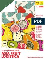 Asia Fruit Logistica 2016 Hong Kong Brochure