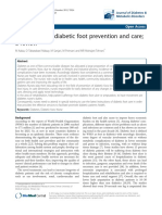 3. Nurses' Role in Diabetic Foot Prevention and Care