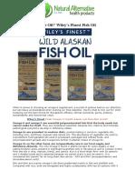 Peak Performance Oil Wileys Finest Fish Oil