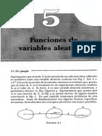 funciones variables aleatorias