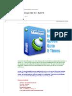 Internet Download Manager IDM 6.21 Build 10 - Softwares & Games - TamilRockers
