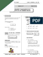3er. Año - ARIT -Guía 5 - Potenciación y Radicación de numer.doc