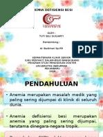 Ppt Referat Anemia Defisiensi besi (Seli)