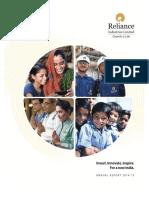 reliance 2014-2015