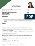 resumeupdatedapril2016 docx