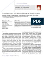A Comparative Study of Stress Integration Methods for the Barcelona Basic Model