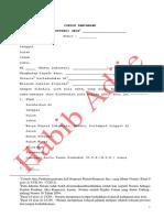 Akta Pendirian Koperasi Primer - Jasa