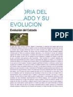 Historia Del Calzado y Evolucion