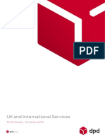 DPD Tariff Guide