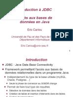 Cours JDBC