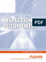 Ruukki Hot Rolled Steels Inspection Documents