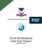Past Papers Economics