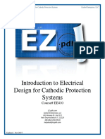 EE410 Introduction to Electrical Design for Cathodic Protection Systems