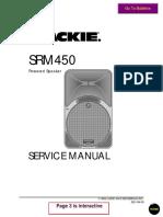 Mackie Srm450 Powered Speaker SM