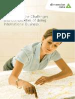 Global and International Business Brochure