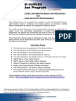 Table of Contents for NJEP Teen Dating Violence Publications