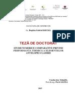 Teza Doctorat - Bogdan Bruma