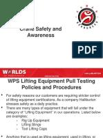 crane safety and awareness presentation