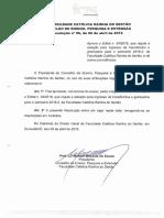 TRANSFERIDOS E GRADUADOS - Resolução Nº 06 de 06 de Abril de 2016