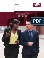 FCA Business Plan 2016 17