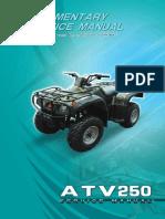 Crossrunner 250cc Service Manual