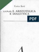 Enrico Berti - Logica Aristotelica e Dialettica