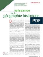 Renaissance de la géographie historique