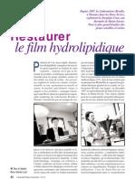 Restaurer le film hydrolipidique