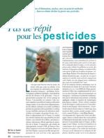 Pas de répit pour les pesticides