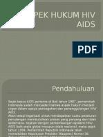 Aspek Hukum Hiv Aids