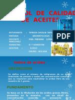 Control de Calidad de Aceites- Bromatologia II
