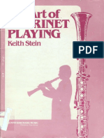 [Keith Stein] the Art of Clarinet Playing