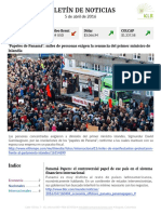 Boletín de noticias KLR 5ABR2016
