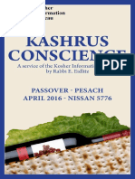 Spam's Combined Pesach Guides 2016