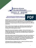 MS-Pres Mason-Dixon (March 2016)