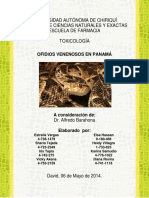 Ofidios Venenosos en Panamá