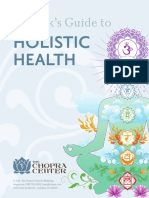 Deepak Guide to Holistic Health