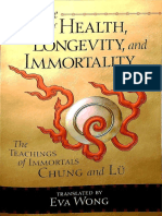 The Tao of Health Longevity and Immortality