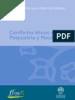 Conflictos eticos psiquiatriapsicoterapia