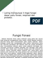 Fisiologi Laring