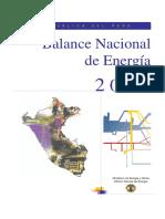 Balance Nacional de Energía 2002