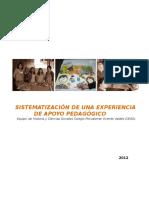 SISTEMATIZACIÓN DE UNA EXPERIENCIA DE APOYO PEDAGÓGICO                 Equipo  de Historia y Ciencias Sociales Colegio Polivalente Vicente Valdés (CEAS)