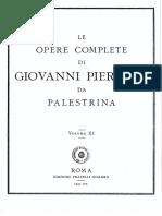 Palestrina Moteti VOL-11