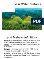 water and land ppt